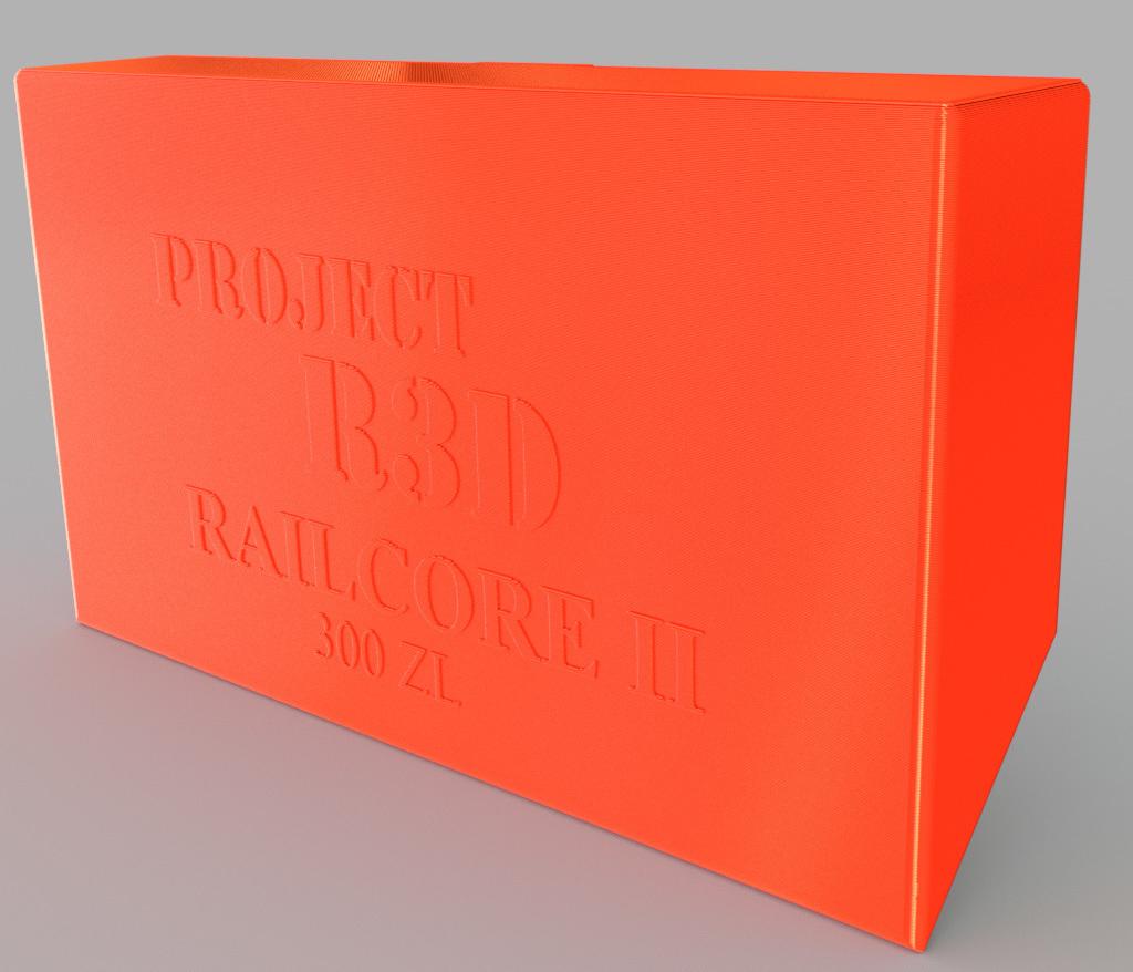 Railcore_PanelDue_Cover_v1.jpg Download free STL file Cover for PanelDue 5i mount • Design to 3D print, Dsk