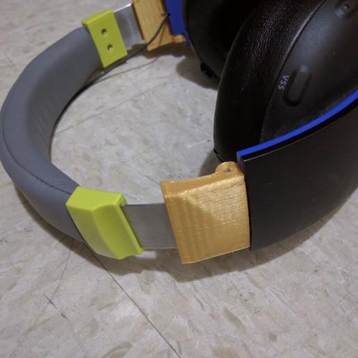 Télécharger fichier 3D gratuit Charnière de rechange pour casque sans fil Sony Gold Gold, Dsk