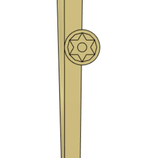 2019-11-20_20-02-19.png Download STL file Golden Sword from Flash Gordon - Step File • 3D print model, Dsk