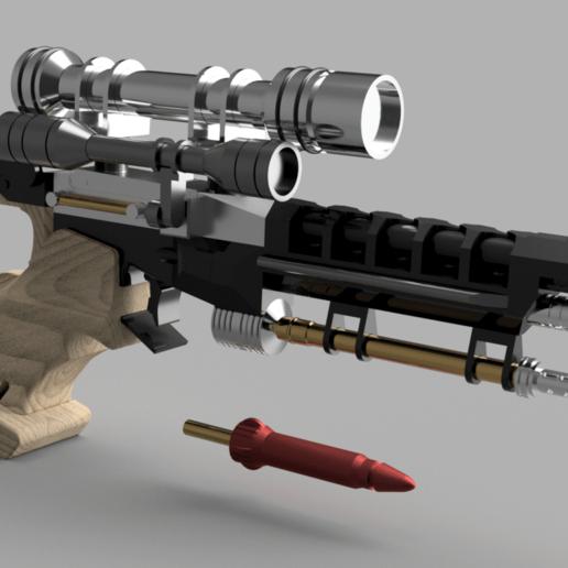S5_v20.png Télécharger fichier STL gratuit Pistolet Star Wars Naboo S5 Heavy Blaster • Objet pour impression 3D, Dsk