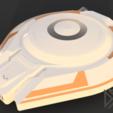 Télécharger fichier STL gratuit Lévitation d'un vaisseau spatial perdu dans l'espace Jupiter, Dsk
