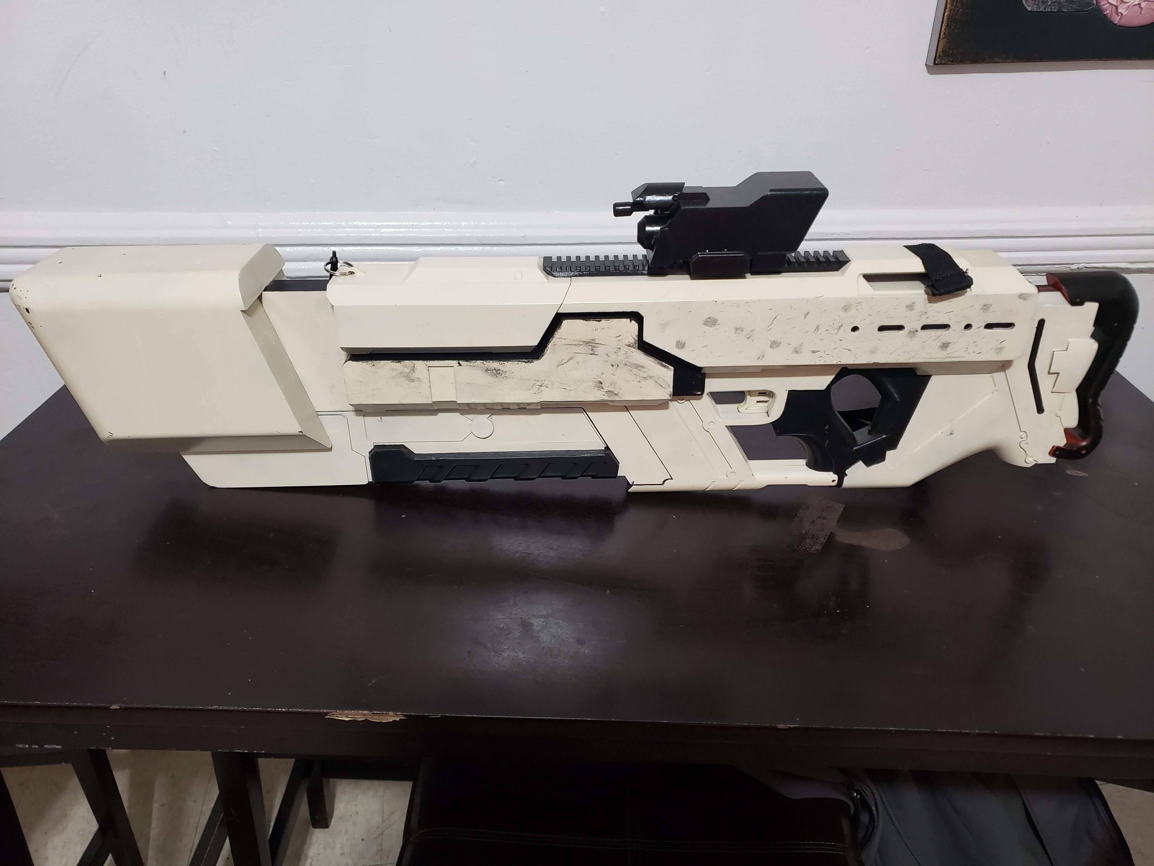 20191014_145923.jpg Download free STL file Khan Rifle Concept from Marvels The Exiles • 3D print design, Dsk