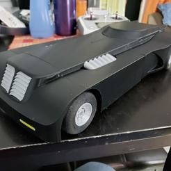 Download free STL file Batmobile Open RC Body and Rims • 3D printable object, Dsk
