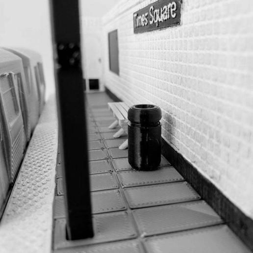Download free STL file MTA Subway Diorama • 3D printer design, Dsk