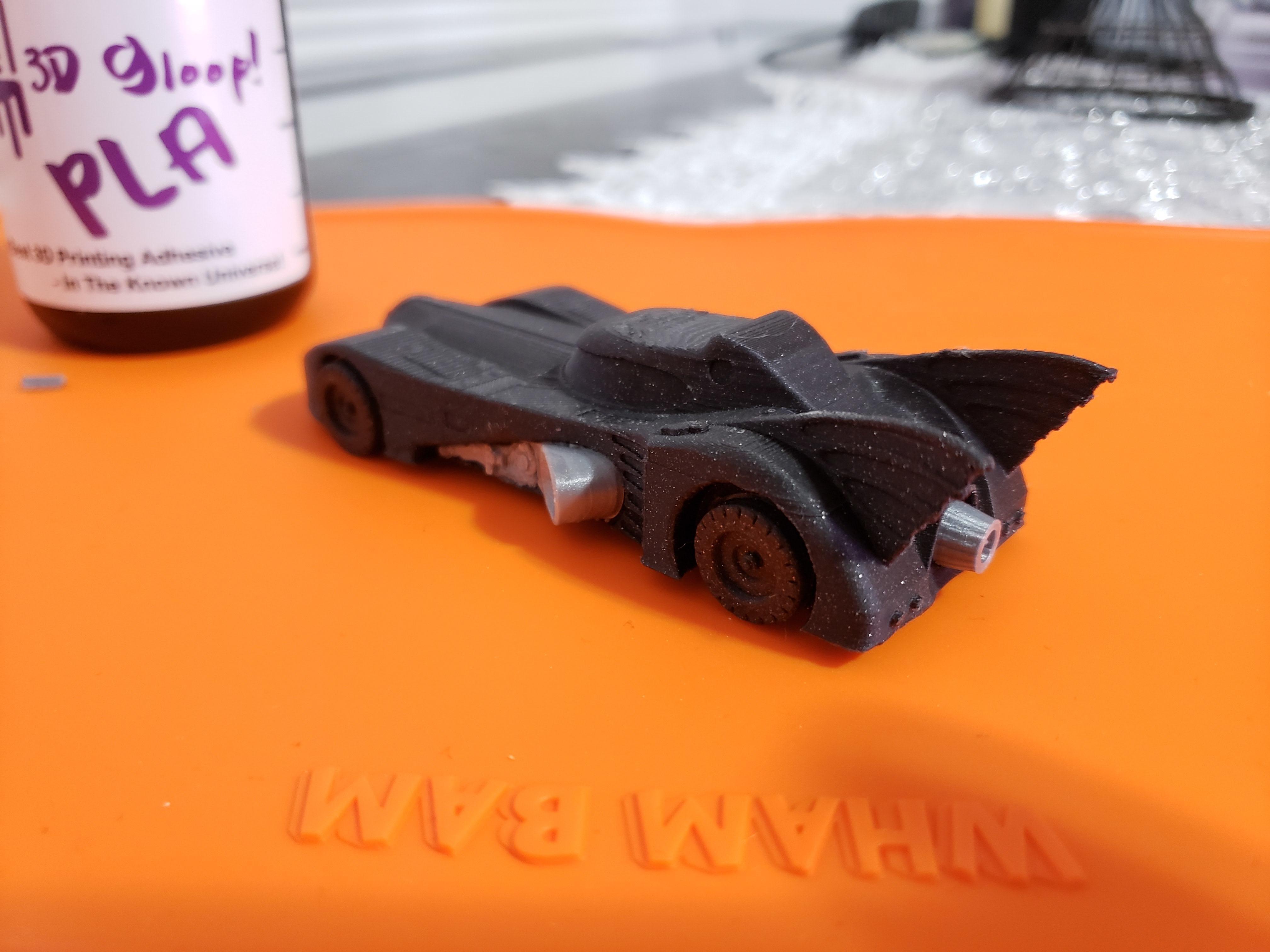 20200130_180604.jpg Download free STL file 1989 mini Batmobile • 3D printable model, Dsk