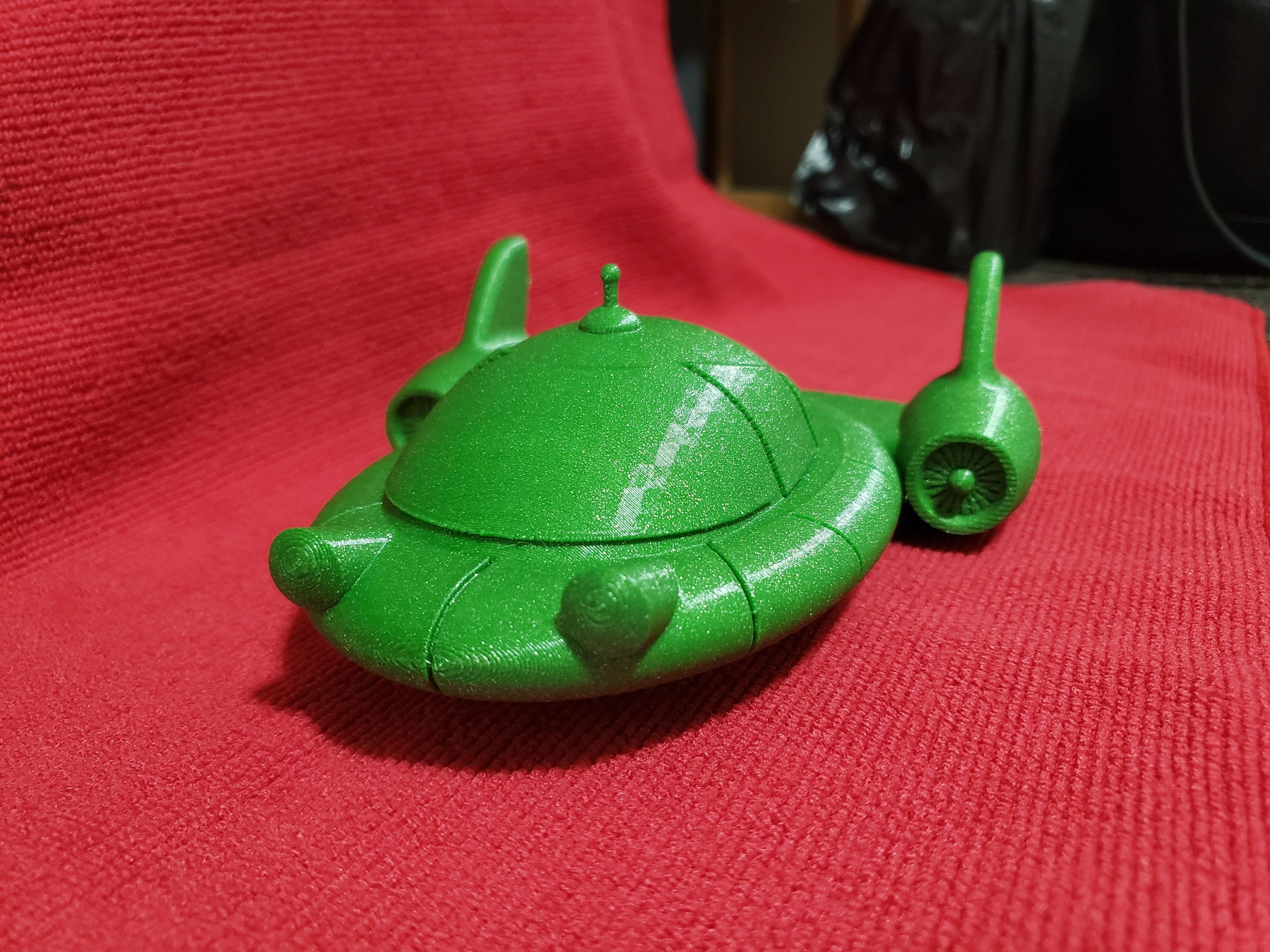 20191201_093352.jpg Download free STL file Little Einsteins Pat Pat Rocket • 3D printable object, Dsk