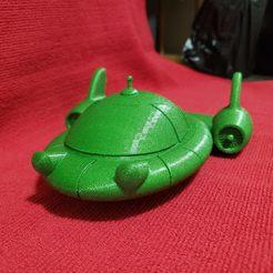 20191201_093352.jpg Télécharger fichier STL gratuit Les petits Einsteins Pat Pat Rocket • Modèle pour imprimante 3D, Dsk