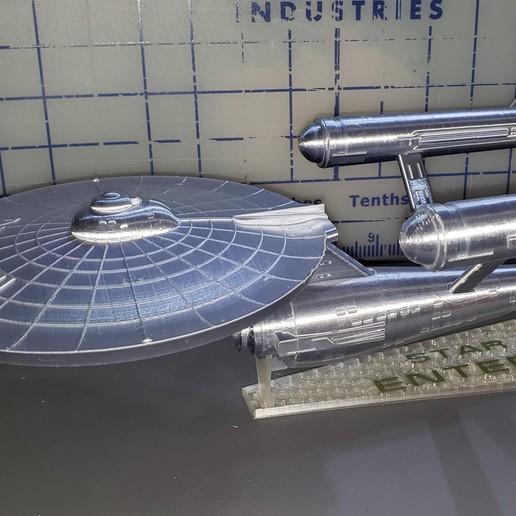 20190828_112102.jpg Download free STL file Star Trek USS Enterprise NCC 1701 • 3D printing object, Dsk