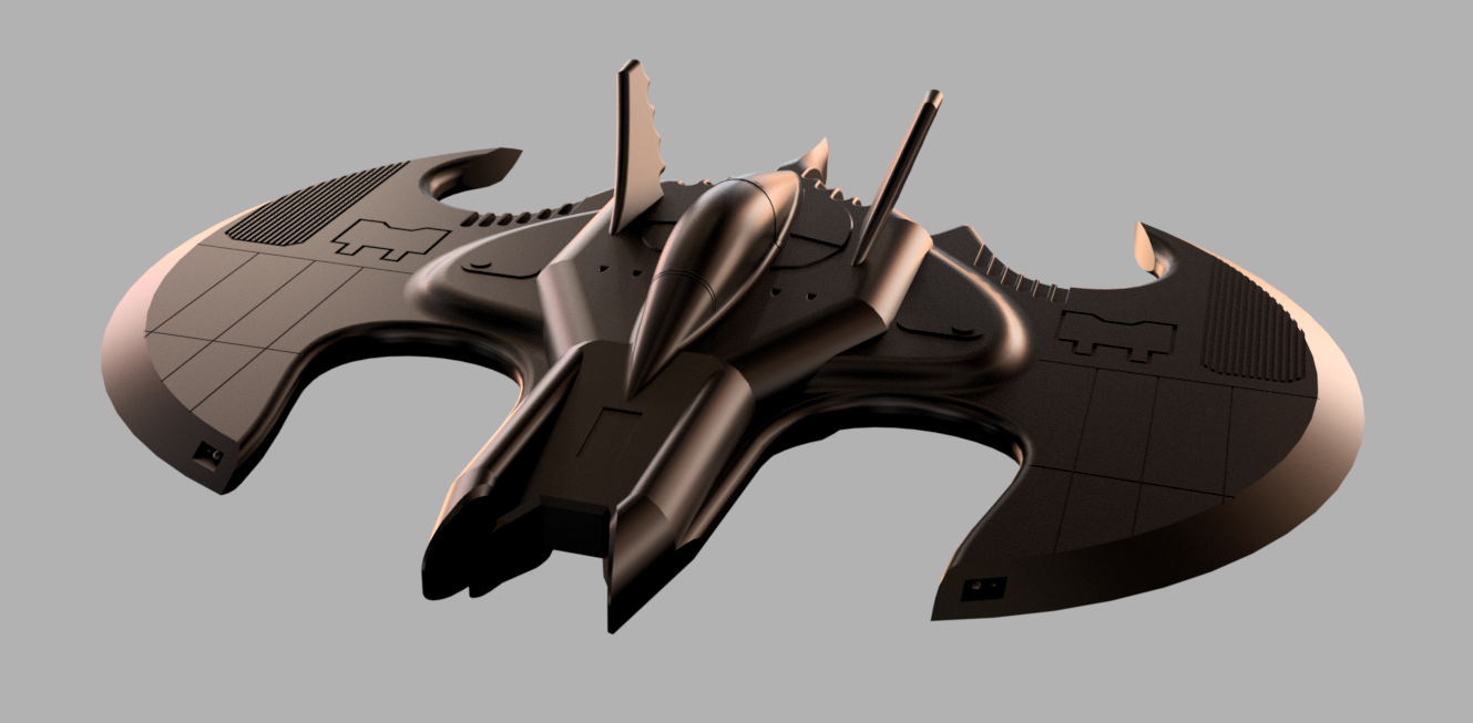 Batwing v32 (2).png Download free STL file Batman Batwing • 3D printable model, Dsk