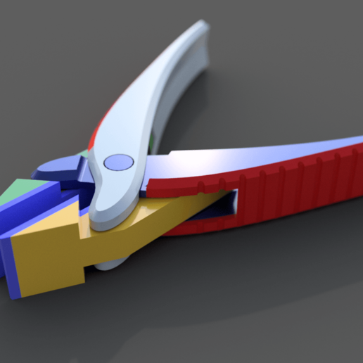 Parallel_Pliers_v20.png Download free STL file Print in Place Parallel Pliers + Multi Material Version • 3D print model, Dsk