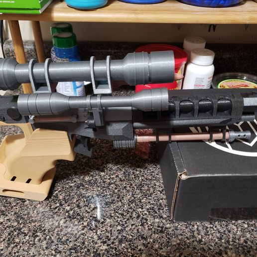 20190205_234631.jpg Télécharger fichier STL gratuit Pistolet Star Wars Naboo S5 Heavy Blaster • Objet pour impression 3D, Dsk