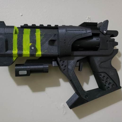 Download free STL file Borderland Unkempt Harold Pistol • Template to 3D print, Dsk