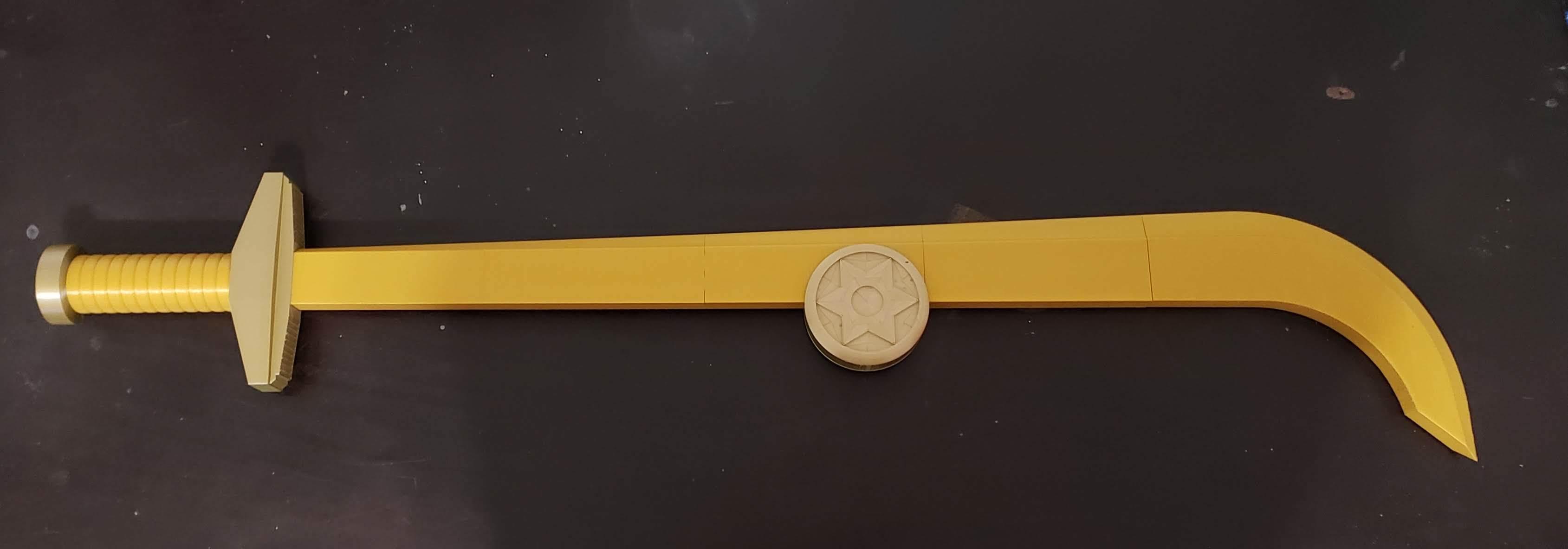 20200102_170809.jpg Download STL file Golden Sword from Flash Gordon - Step File • 3D print model, Dsk