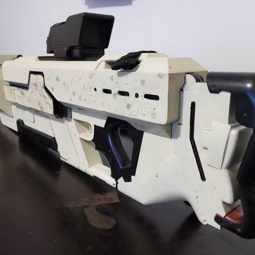 20191014_145938.jpg Download free STL file Khan Rifle Concept from Marvels The Exiles • 3D print design, Dsk