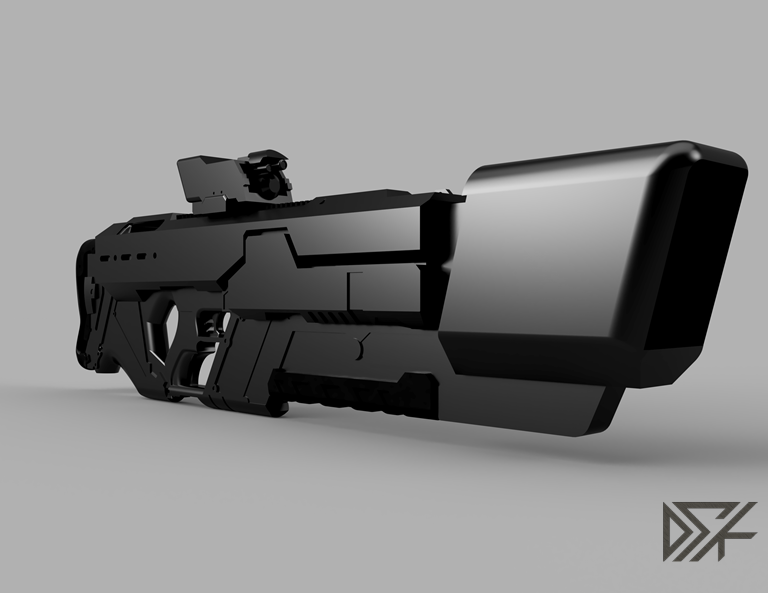 Khan_Riifle_2018-Oct-07_12-18-18AM-000_CustomizedView15190775803.png Download free STL file Khan Rifle Concept from Marvels The Exiles • 3D print design, Dsk