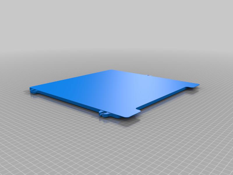 300_ZL_Bed.png Download free STL file Railcore 300ZL Bed STL for use in Slicers • Model to 3D print, Dsk