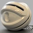 Motherhsip_v11.png Download free STL file Timeless Mothership with spinning ring • 3D printer template, Dsk