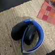 Download free 3D printing models Replacement Headband Sony Gold Wireless Heaset, Dsk