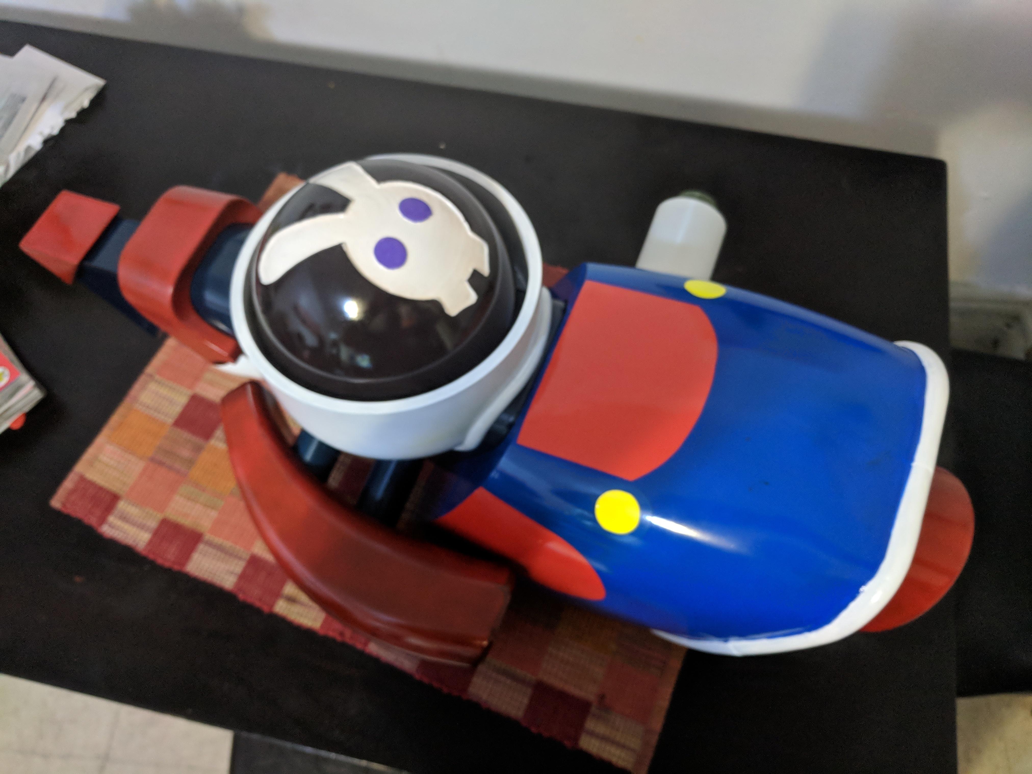 IMG_20180919_172501.jpg Télécharger fichier STL gratuit Mario + Lapins Crétins - Plumer's Helper Boomshot • Modèle pour impression 3D, Dsk
