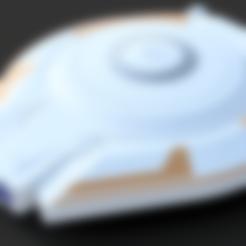Télécharger fichier STL gratuit Perdu dans l'espace Jupiter Vaisseau spatial - Multicolore, Dsk