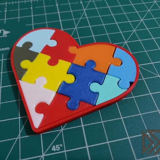 20190409_190926.jpg Download free STL file Autism Awareness Month Puzzle 2019 • Model to 3D print, Dsk