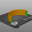 Download free STL file Replacement Headband Sony Gold Wireless Heaset • Template to 3D print, Dsk