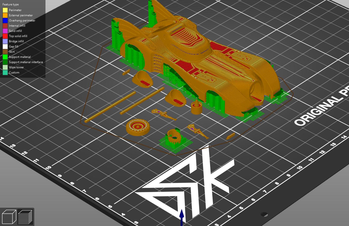 PO.png Download free STL file 1989 mini Batmobile • 3D printable model, Dsk