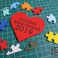 puzzle_back.jpg Download free STL file Autism Awareness Month Puzzle 2019 • Model to 3D print, Dsk