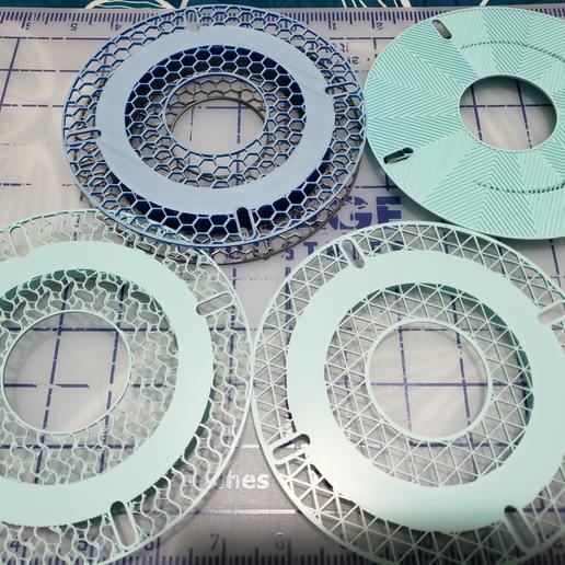 Download free 3MF file Customizable Sample Spool • 3D print design, Dsk