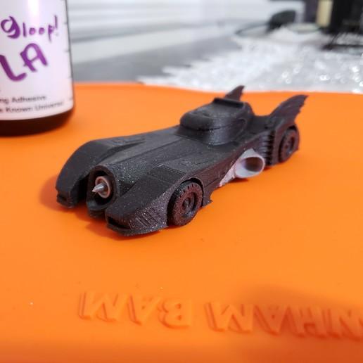 20200130_180612.jpg Download free STL file 1989 mini Batmobile • 3D printable model, Dsk