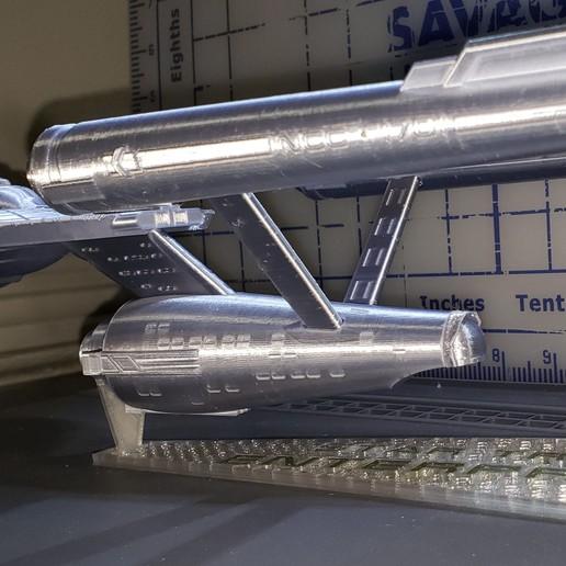 20190828_112129.jpg Download free STL file Star Trek USS Enterprise NCC 1701 • 3D printing object, Dsk