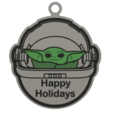 Download free 3MF file The Child Ornament - Baby Yoda filament swap and MMU • 3D printable object, Dsk