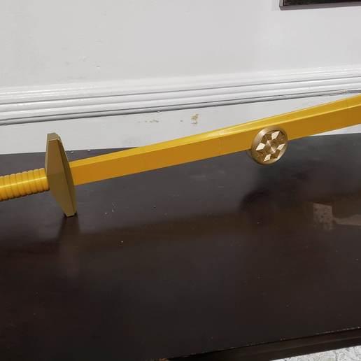 20200102_170715.jpg Download STL file Golden Sword from Flash Gordon - Step File • 3D print model, Dsk