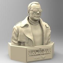 Download 3D printer files VILAIN JEAN CLAUDE VAN DAMME, thierry3D