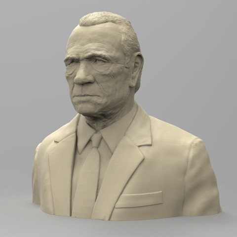 stl files TOMMY LEE JONES, thierry3D