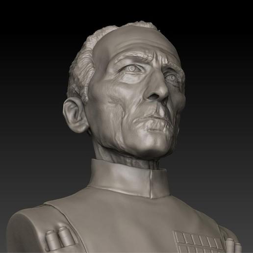 03.jpg Download STL file LARGE TARKIN MOFF • 3D print model, thierry3D