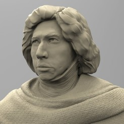 3D printer files KYLO REN, thierry3D