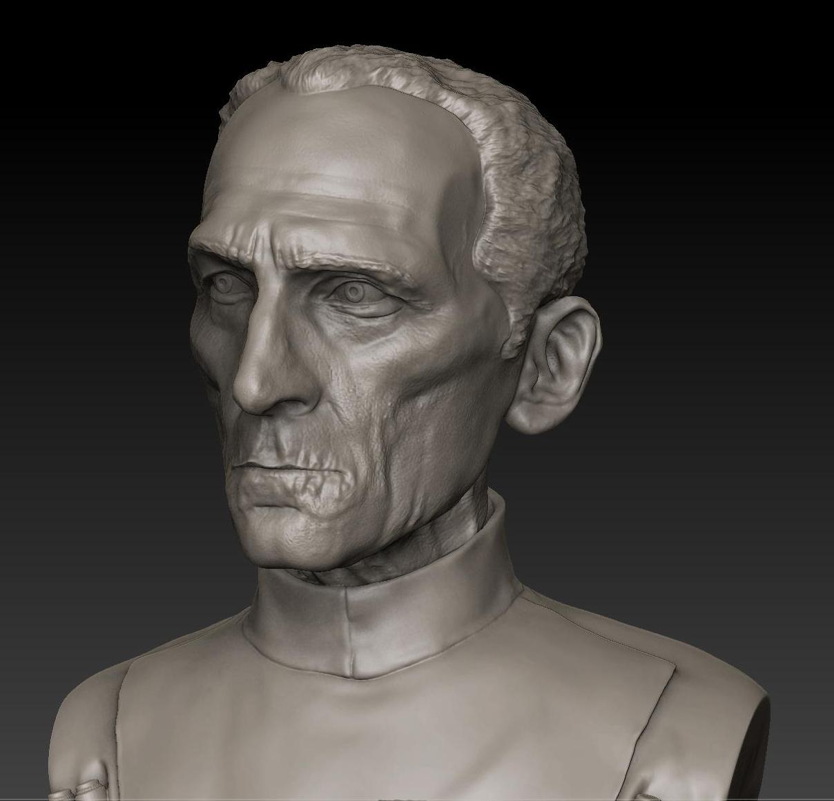 04.jpg Download STL file LARGE TARKIN MOFF • 3D print model, thierry3D