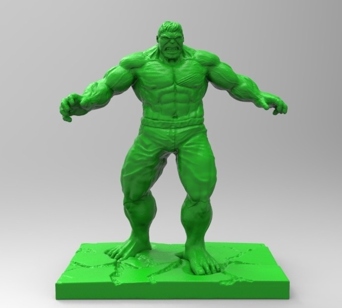 HULK02.jpg Download STL file HULK • 3D printable design, thierry3D
