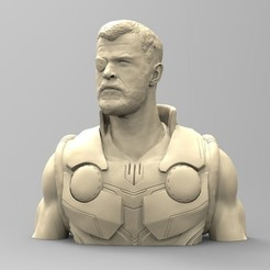 3D printing model THOR first version, thierry3D