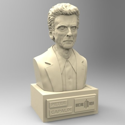 Download STL file DOCTOR WHO PETER CAPALDI • 3D printer template, thierry3D