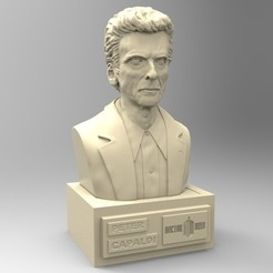 Download STL file DOCTOR WHO PETER CAPALDI, thierry3D