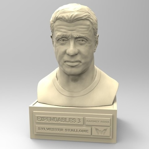 Download STL file SYLVESTER STALLONE • 3D printable model, thierry3D