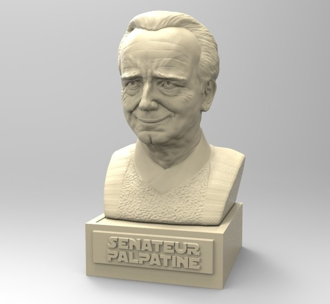 untitled23.jpg Download STL file PALPATINE • 3D print template, thierry3D