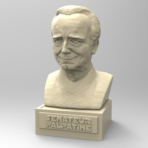 Download 3D printing files PALPATINE, thierry3D