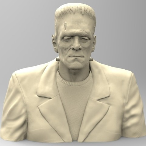 Download 3D printing models FRANKENSTEIN, thierry3D