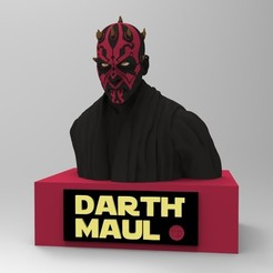 Télécharger fichier 3D DARTH MAUL, thierry3D