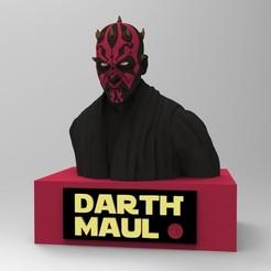Descargar modelos 3D para imprimir DARTH MAUL, thierry3D