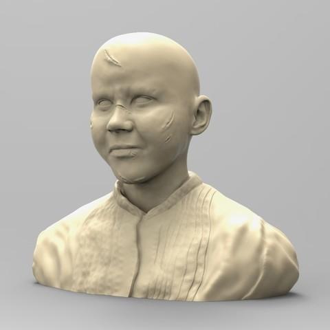 Download 3D printer templates REGAN, THE EXORCIST 02, thierry3D
