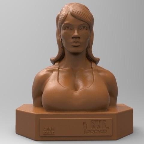 Download STL file LANA KANE • 3D printable model, thierry3D